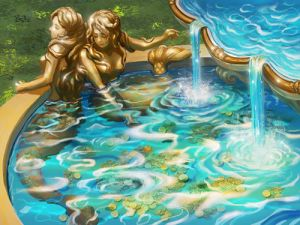 Fountain of Mermaids by Athena-Erocith