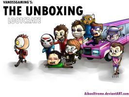 The Unboxing: The Epic Lootcrate Chase by AikonX