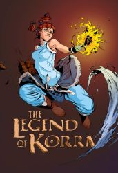Legend of Korra by 2ngaw (flats by Carlos Campos) by Brenofil