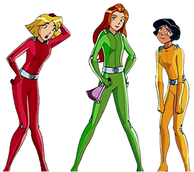 Totally Spies! FREE PNG by TheLivingBluejay