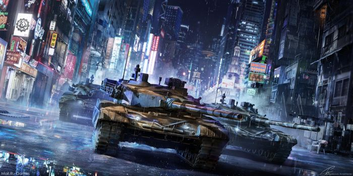 Chinese tank by Sinto-risky