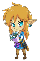 Breath of the Wild Link by Z-Graves