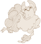 Ko-fi Sketch: Oricorio by Wooled
