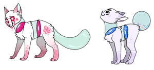 cheap jarcat adoptables 1/2 ON HOLD by Hella-cool-adopts