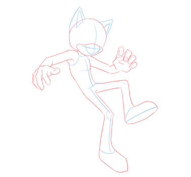 Improved Sonic Male Base by Keitronic