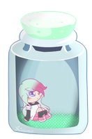~Precious Mariana Shy Bottle by Nini-the-inkling