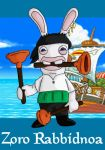 Cosplay Rabbids - Zoro by feadraug