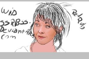 Lindsey Stirling wip by SsRBsS