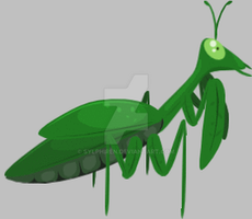 Mantis Animation by Sylphiren