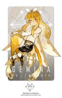 Adoptable - GEMINA : No. 13 Amber [CLOSED] by Pearlgraygallery