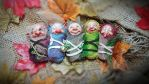 Troll baby fae cocoons by FaunleyFae