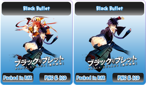 Black Bullet - Anime Icon by Rizmannf