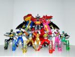 Power Rangers Dino Charge by LinearRanger