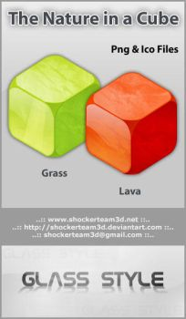 The Nature in a Cube by shockerteam3d