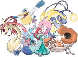 Ariel - Pokemon Team