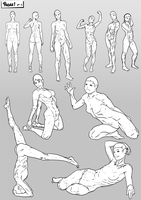Poses pt8 by SabreWing