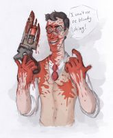 Typical Bloody Medic by InvaderShego