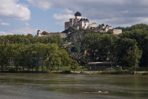 Trencin castle by WildSammy