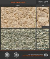 Stone Pattern 15.0 by Sed-rah-Stock