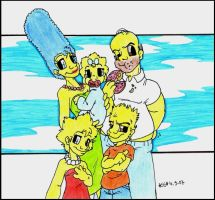 .THE SIMPSONS. by silversister