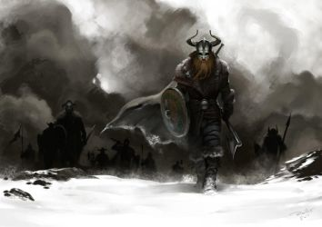 Marching to Valhalla by ChrisRallis