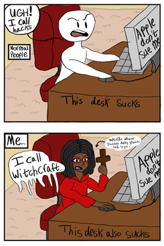 I CALL WITCHCRAFT by AbsoluteNerd10099