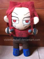 Demon King Nemesis plushie by VioletLunchell