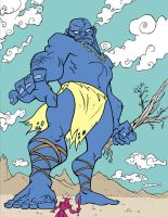 Blue Giant by petestathis