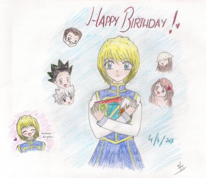 Happy Birthday, Kurapika~ by Rudi-Chama