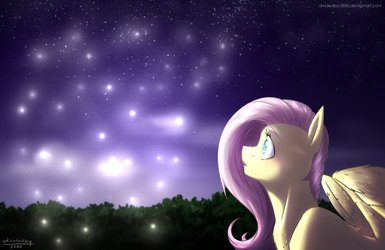 Fireflies by lRUSU