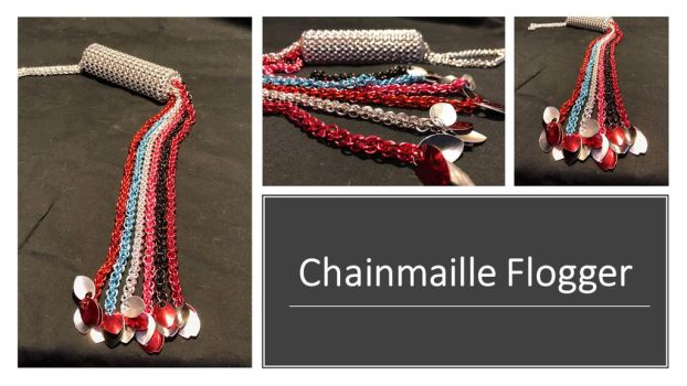Chainmaille Flogger 2 by graywolfsmaille