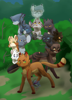 Warriors: Forest of Secrets by Crazy-Luna