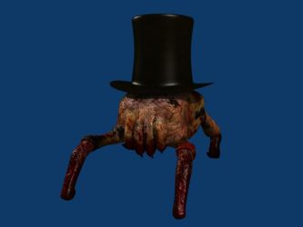 Headcrab with a hat by Arkansis