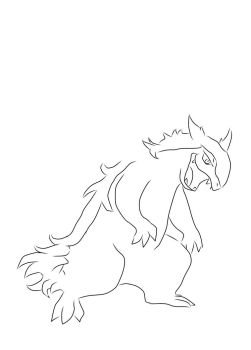 Redraw typhlosion by bowseganonlink