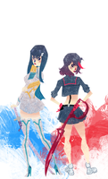 Kill la Kill by SerenaR-art