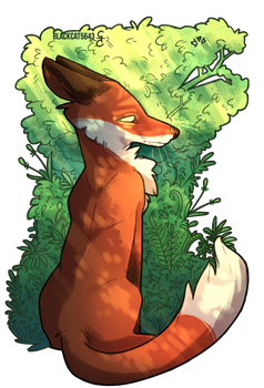 In the Shade of the Forest by BlackCat5643
