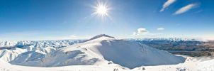 Southern Alps Pano by Niv24