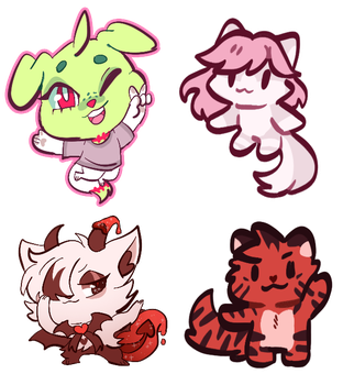 comm batch (feat. new chibi type) by neopit