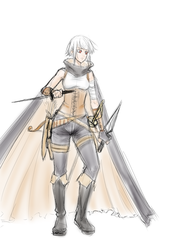 Sketch Redeem: DnD Character concept for NeoRJay by ARHDian