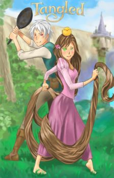 Tangled by MeelaDot