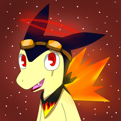 Draken The Typhlosion by DaveJr10