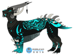 Dragon Adoptable | AUCTION |Only Points!|(CLOSED) by Momiji1411