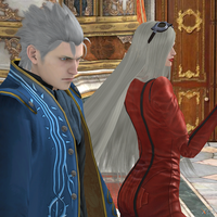 Vergil and Jeanne by Hatredboy