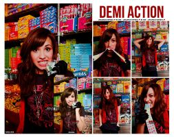 Demi Action by Laaloadictedphoto