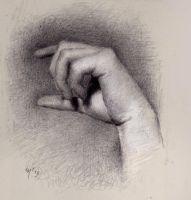 Hand practice by SILENTJUSTICE
