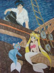 Serena the Little Mermaid by moonstruck26