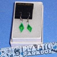 Sims 3 Crystal Earrings by Plastic-Paradox