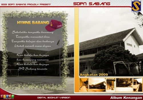 SD Sabang Booklet _DVD Case by dradesigner