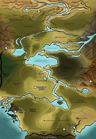 The Map of Nandryx by Snowwire