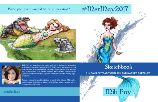 MerMay2017 Softcover Art by artofMilica